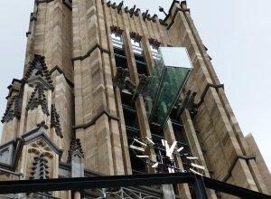 Eusebius Glass Balcony