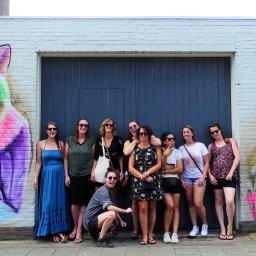 Muurschilderingen Fiets tour