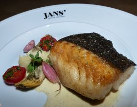Main dish at Jans'