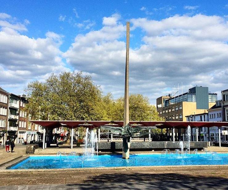 Hittegolf in Arnhem