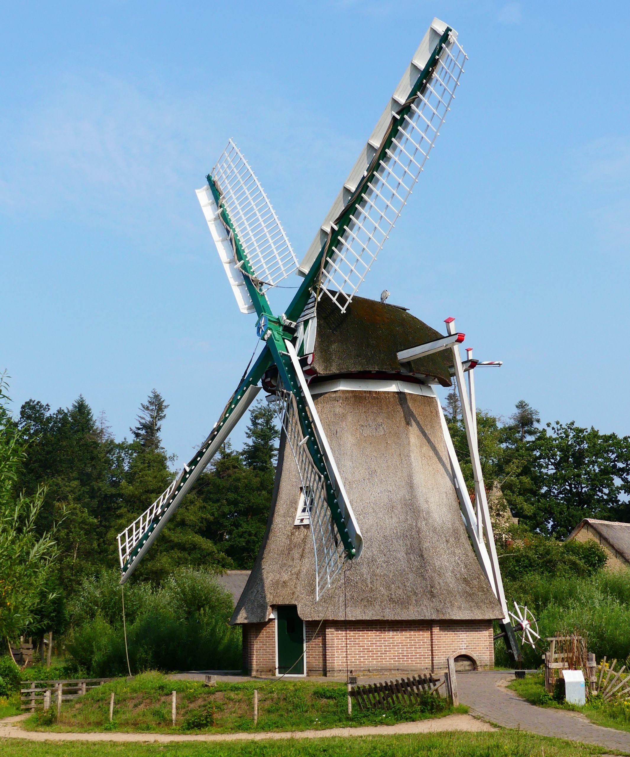 Windmill in Holland, Arnhem