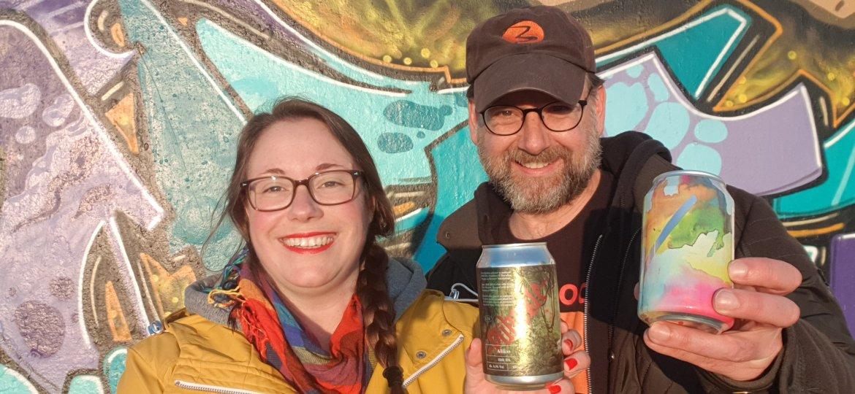 Street art tour met bierproeverij