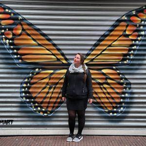 ArnhemLife Vlinder Graffiti