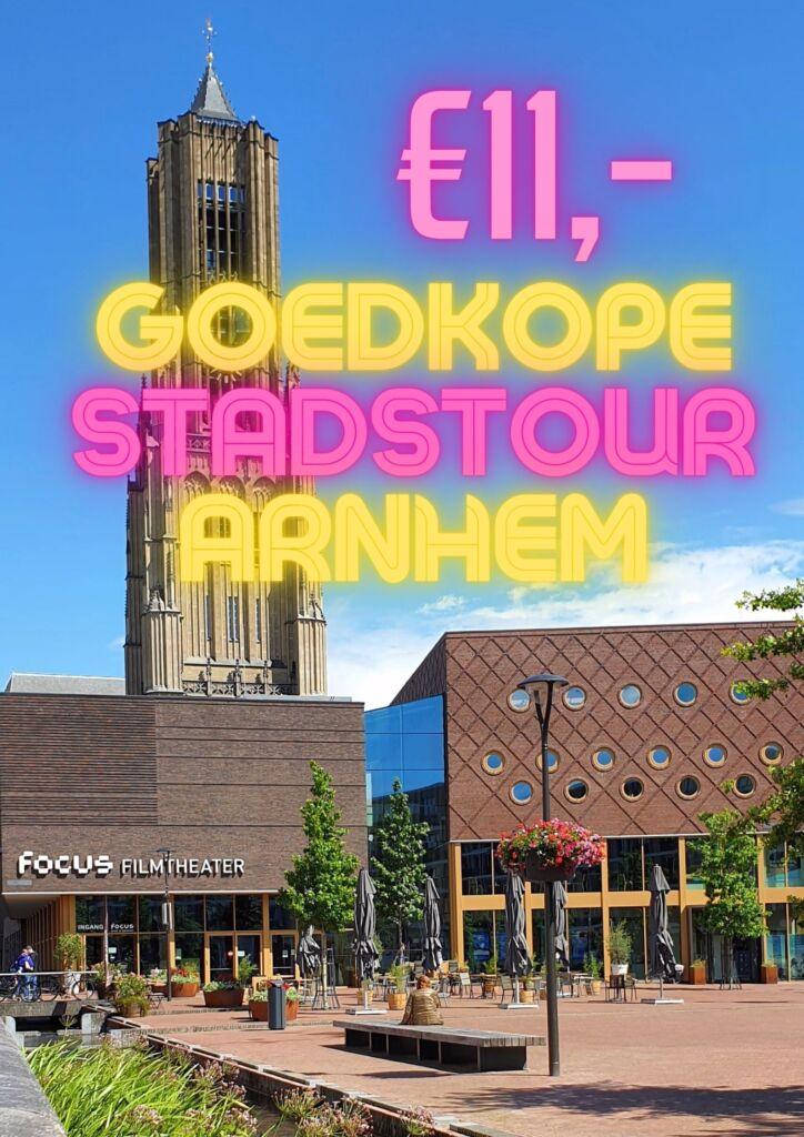 Goedkope stadstour Arnhem