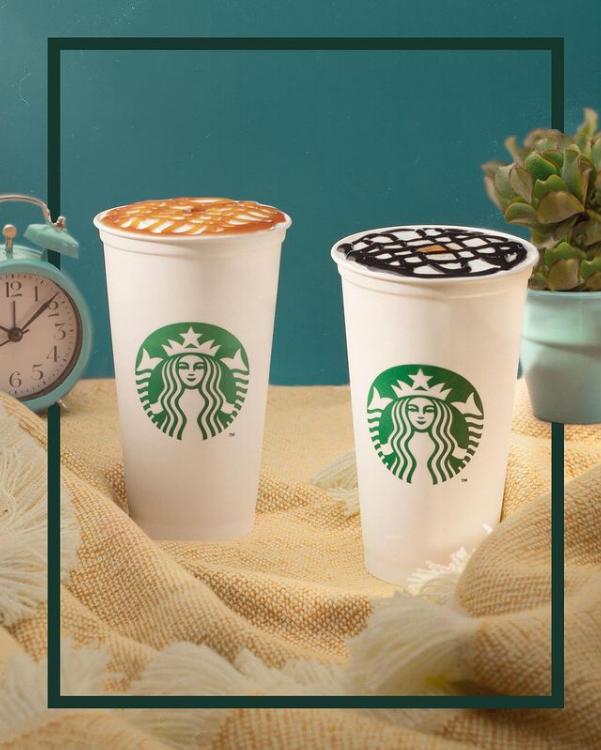 foto door Starbucks Coffee