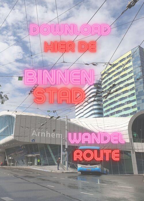 Wandelroute Arnhem Centrum