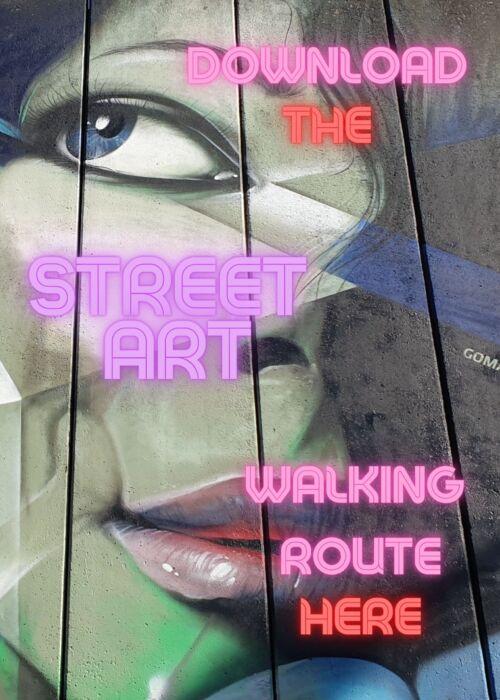 Street Art walking route