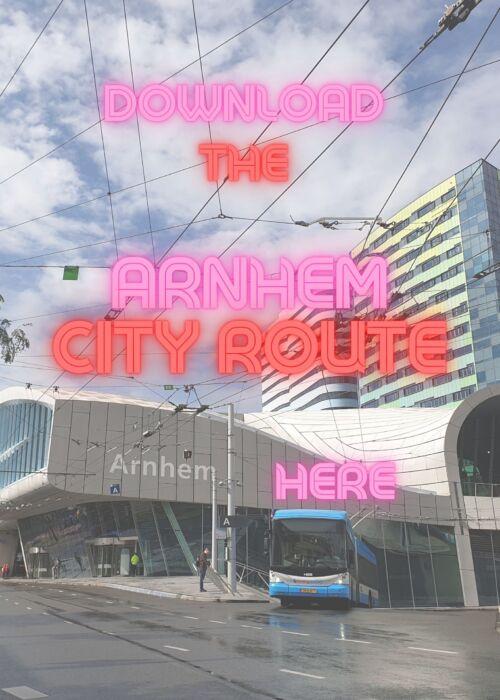 Arnhem City Walk Route