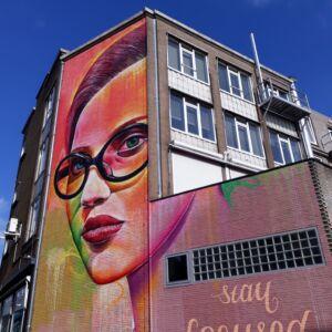 Downloadbare Street Art Arnhem Fietsroute