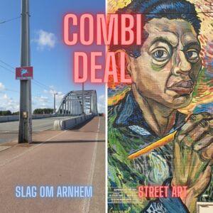 Combi deal slag om Arnhem en Street art